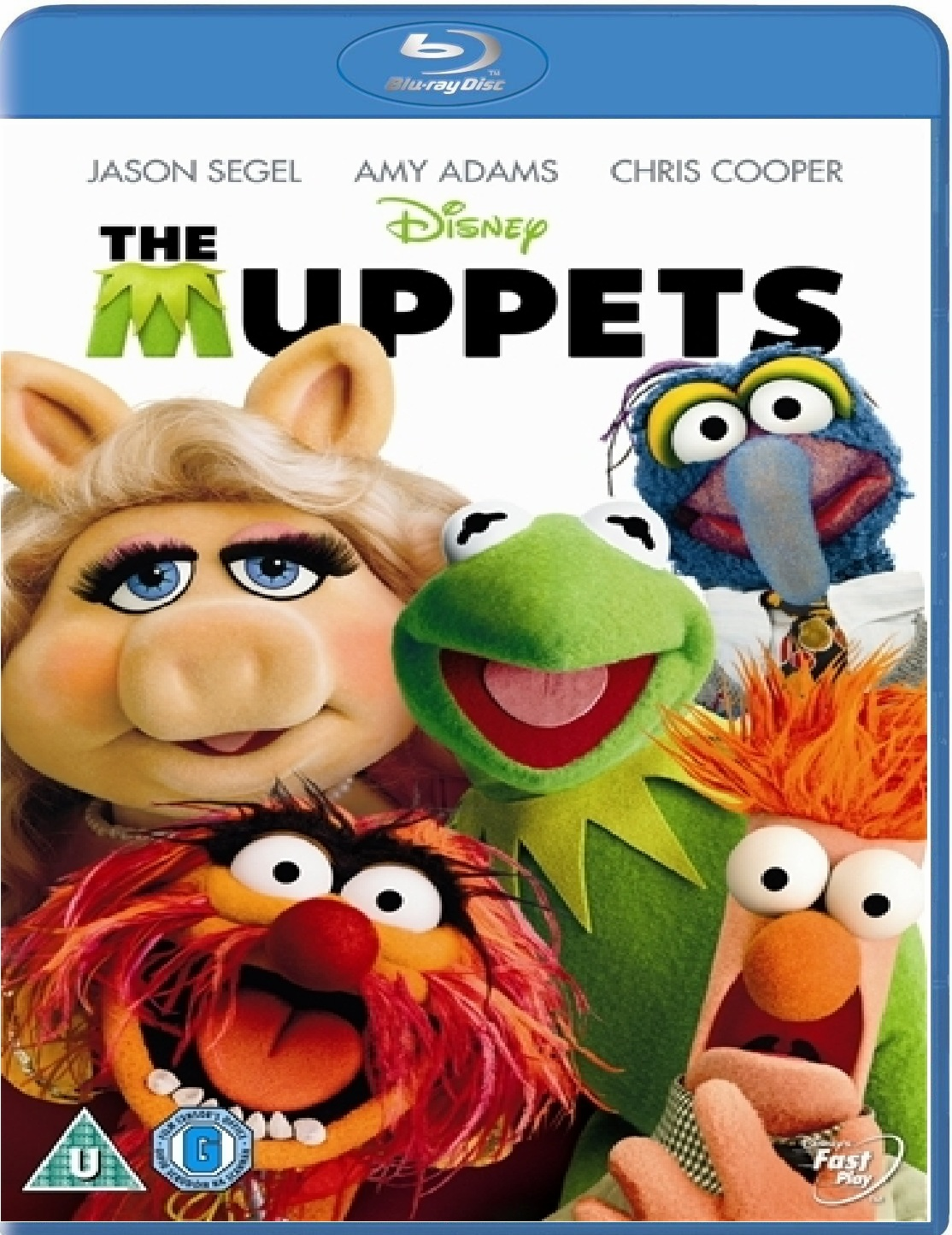 The Muppets Blu-ray Rental (USED)