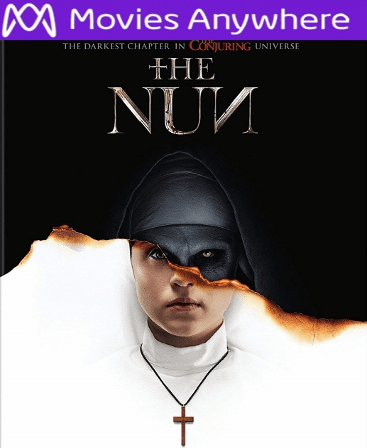 The Nun HD UV or iTunes Code via MA