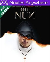 The Nun HD UV or iTunes Code via MA (PRE-ORDER WILL EMAIL ON OR BEFORE 12-4-18)