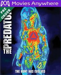 The Predator 2018 HD UV or iTunes Code via MA (PRE-ORDER WILL EMAIL ON OR BEFORE 12-18-18)
