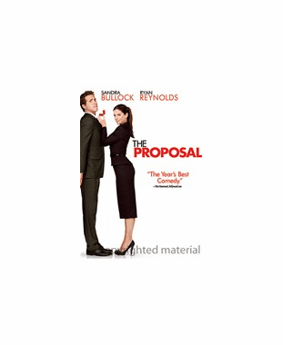 The Proposal DVD Movie (USED)