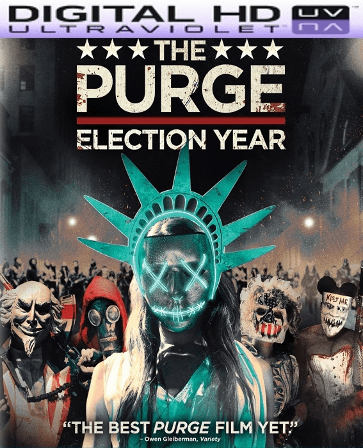 The Purge: Election Year HD Digital Ultraviolet UV Code (LIMITED QUANTITY)