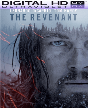 The Revenant HD Digital Ultraviolet UV Code VUDU or iTUNES (LIMITED QUANTITIES )