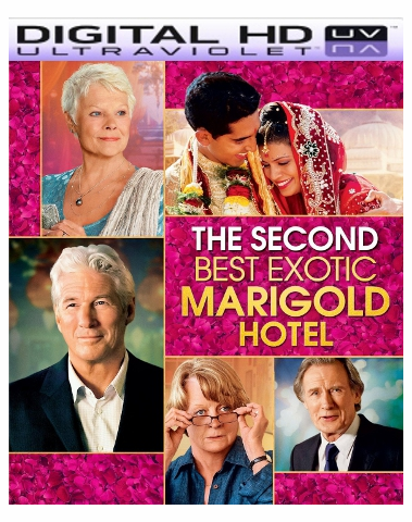 The Second Best Exotic Marigold Hotel HD Digital Ultraviolet UV Code