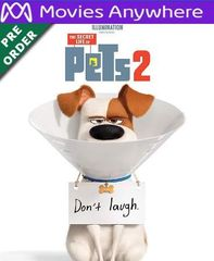 The Secret Life of Pets 2 HD Vudu or iTunes Code via MA (PRE-ORDER WILL EMAIL ON OR BEFORE BLU RAY RELEASE)