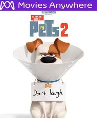 The Secret Life of Pets 2 HD Vudu or iTunes Code via MA
