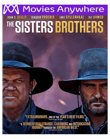 The Sisters Brothers HD UV or iTunes Code via MA