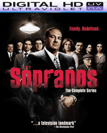The Sopranos  Complete Series HD Digital Copy Code (GOOGLE PLAY ONLY)