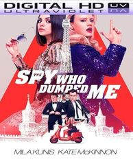 The Spy Who Dumped Me HD UV Ultraviolet Code