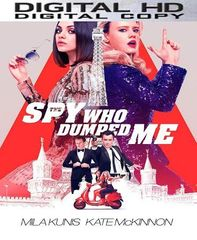 The Spy Who Dumped Me HD UV or iTunes Code