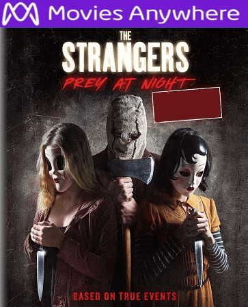 The Strangers: Prey at Night HD UV or iTunes Code Via MA