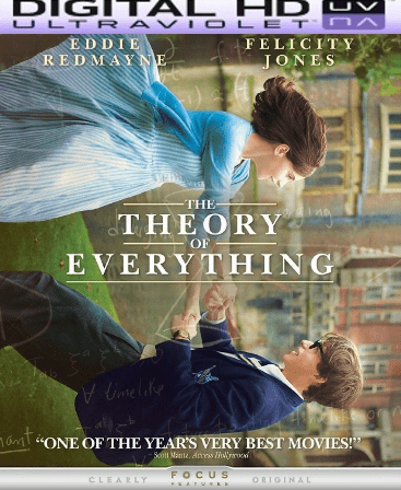 The Theory of Everything HD Digital Ultraviolet UV Code