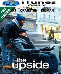 The Upside HD iTunes Code (PRE-ORDER WILL EMAIL ON OR BEFORE BLU RAY RELEASE)