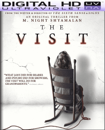 The Visit HD Digital Ultraviolet UV Code