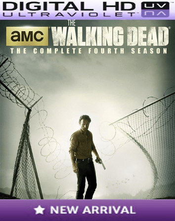 The Walking Dead Season 4 HD Digital Ultraviolet UV Code