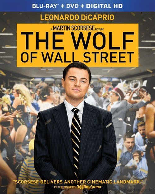 The Wolf Of Wall Street  (Blu-ray + DVD + UltraViolet)
