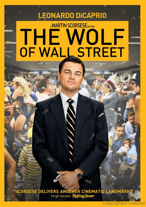 The Wolf of Wall Street DVD (USED)