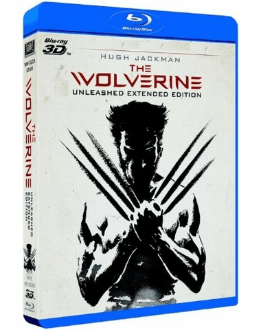 The Wolverine 3D Blu-ray (USED)