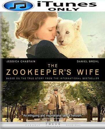 The Zookeeper's Wife HD iTunes Code