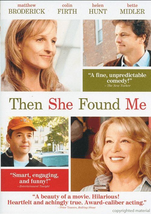 Then She Found Me DVD Movie