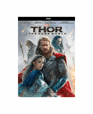 Thor The Dark World DVD