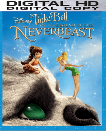 Tinker Bell and the Legend of the Neverbeast HD Digital Copy Code