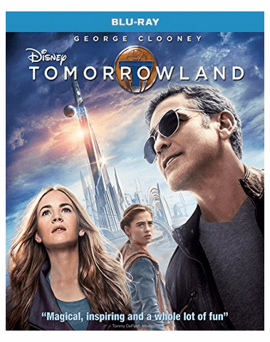 Tomorrowland Blu-ray Single Disc