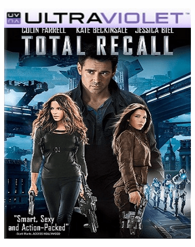 Total Recall  (2012) SD Digital Ultraviolet UV Code