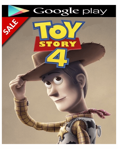 Toy Story 4 HD Google Play Code