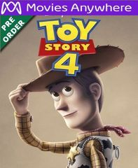 Toy Story 4 HD Vudu or iTunes Code via MA (PRE-ORDER WILL EMAIL ON OR BEFORE BLU RAY RELEASE)