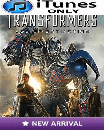 Transformers Age of Extinction iTunes ONLY Digital Code