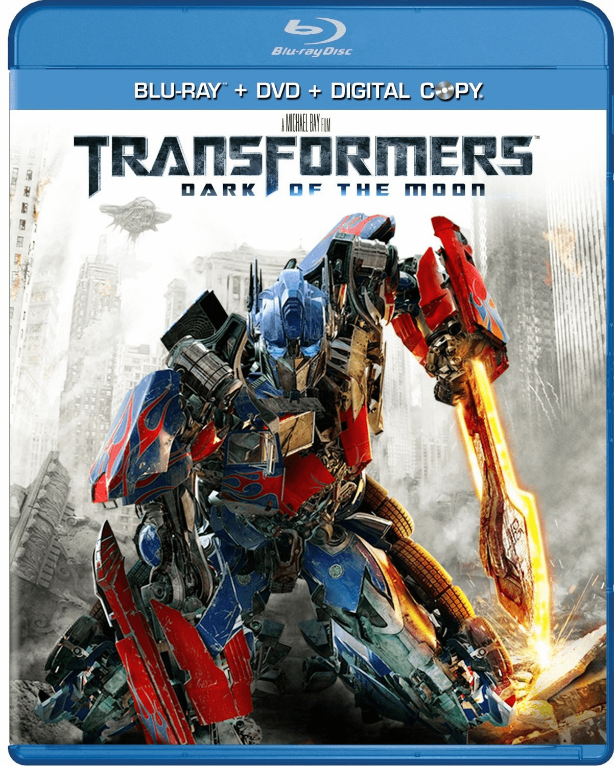 Transformers Dark Of The Moon (Two-Disc Blu-ray/DVD Combo)