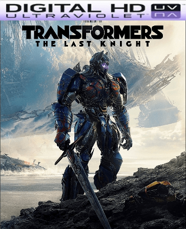 Transformers: The Last Knight HD Ultraviolet UV Code