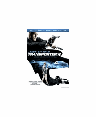 Transporter 3 DVD Movie