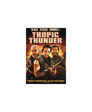 Tropic Thunder DVD Movie