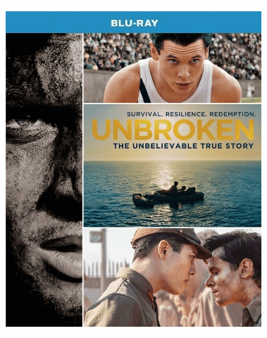 Unbroken Blu-ray Single Disc