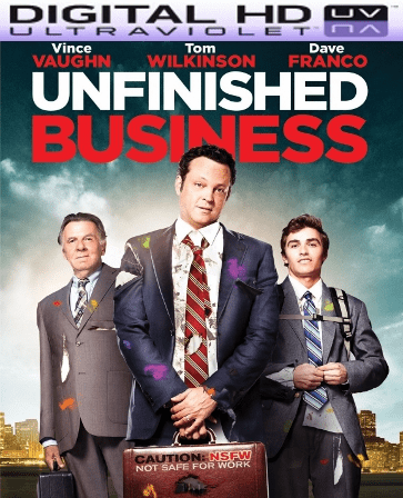 Unfinished Business HD Digital Ultraviolet UV Code