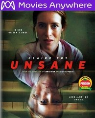 Unsane HD UV or iTunes Code Via MA