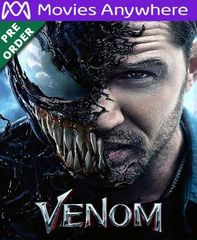 Venom HD UV or iTunes Code via MA (PRE-ORDER WILL EMAIL ON OR BEFORE 12-18-18)