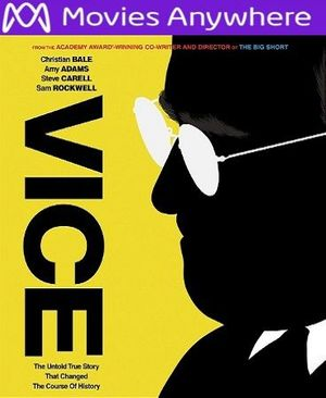 Vice  (2018) HD UV or iTunes Code via MA