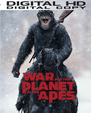 War for the Planet of the Apes Ultraviolet or iTunes Code