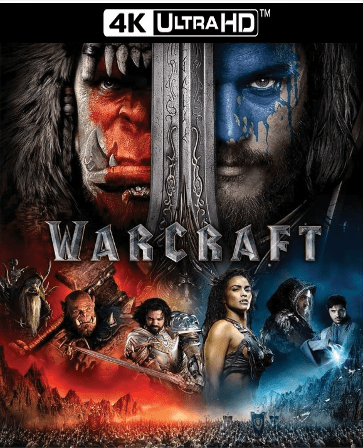 Warcraft 4K UHD Ultraviolet UV Code