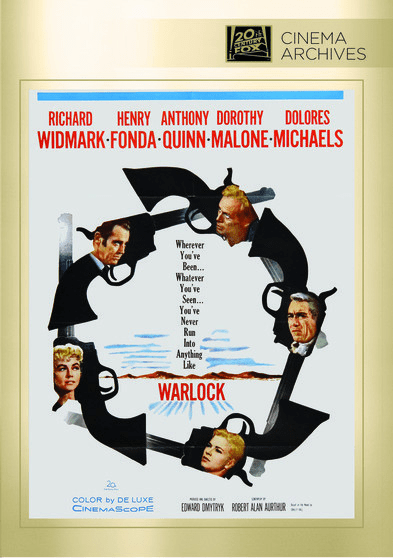 Warlock DVD Movie (1959)
