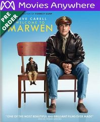 Welcome to Marwen HD UV or iTunes Code via MA (PRE-ORDER WILL EMAIL ON OR BEFORE BLU RAY RELEASE)