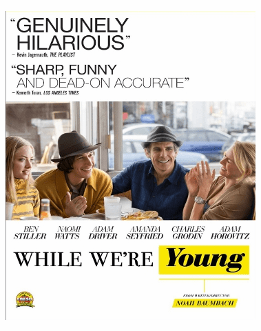 While We're Young DVD