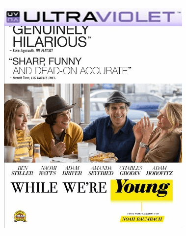 While Were Young SD Digital Ultraviolet UV Code