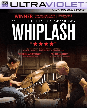 Whiplash SD Digital Ultraviolet UV Code