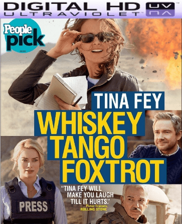Whiskey Tango Foxtrot HD Digital Ultraviolet UV Code