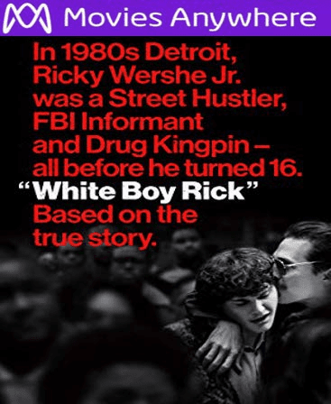 White Boy Rick HD UV or iTunes Code via MA
