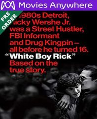 White Boy Rick HD UV or iTunes Code via MA (PRE-ORDER WILL EMAIL ON OR BEFORE  12-25-18)
